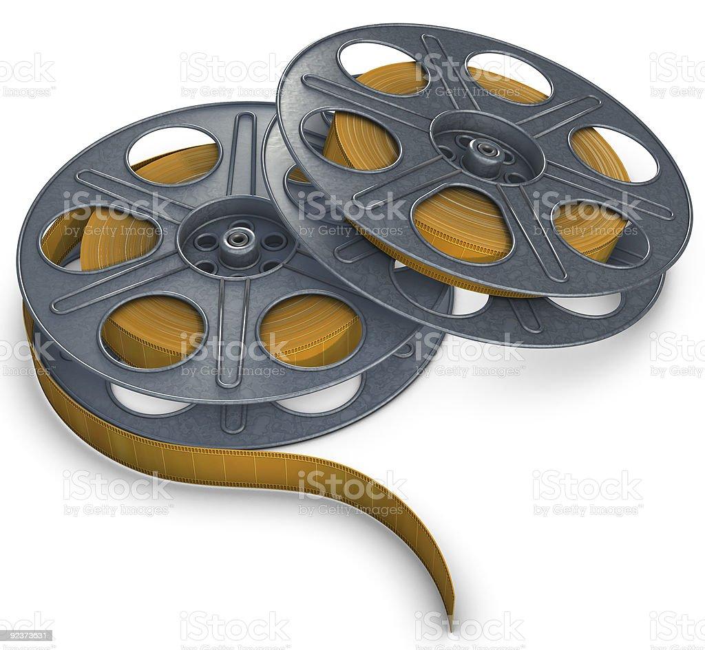 film reels Lizenzfreies stock-foto