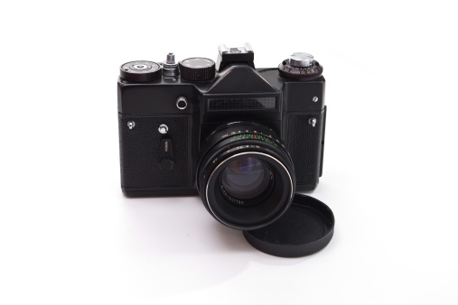 Film Reflex Camera Stock Photo - Download Image Now