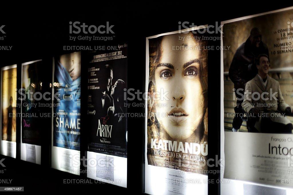 Film releases stock photo