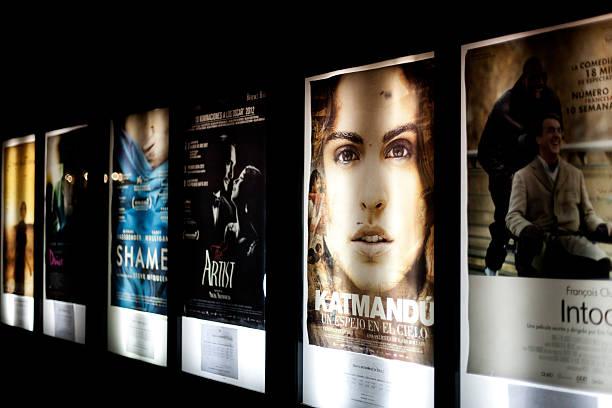 film-releases - filmplakate stock-fotos und bilder