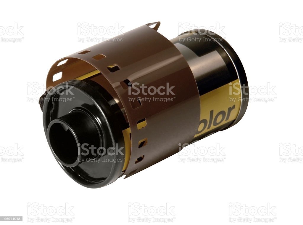 film roll royalty-free stock photo