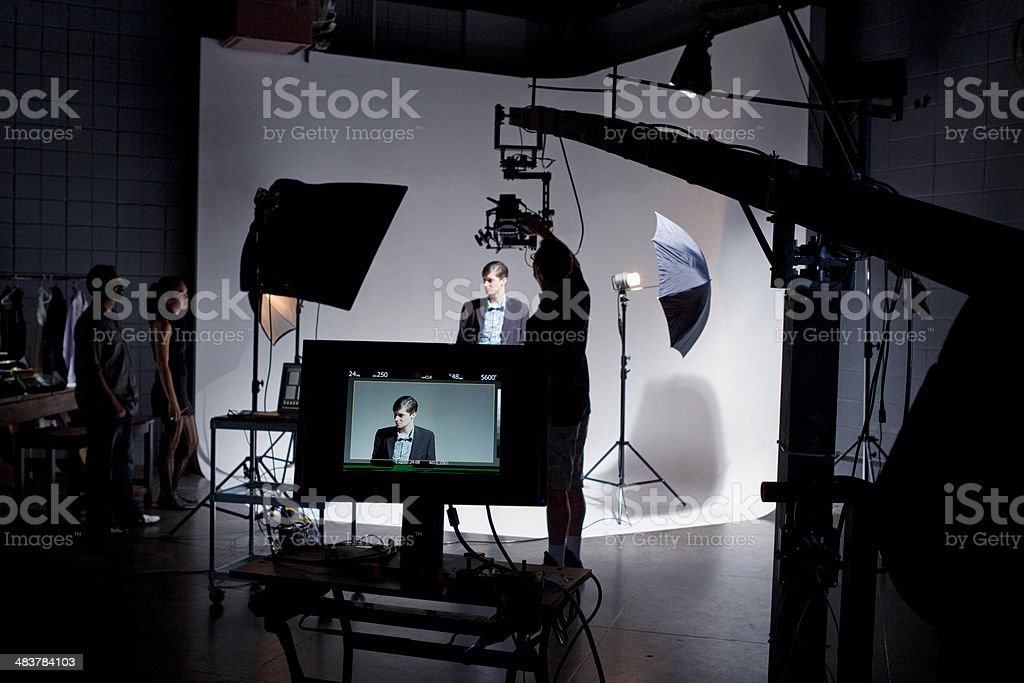 Film Set royalty-free stock photo