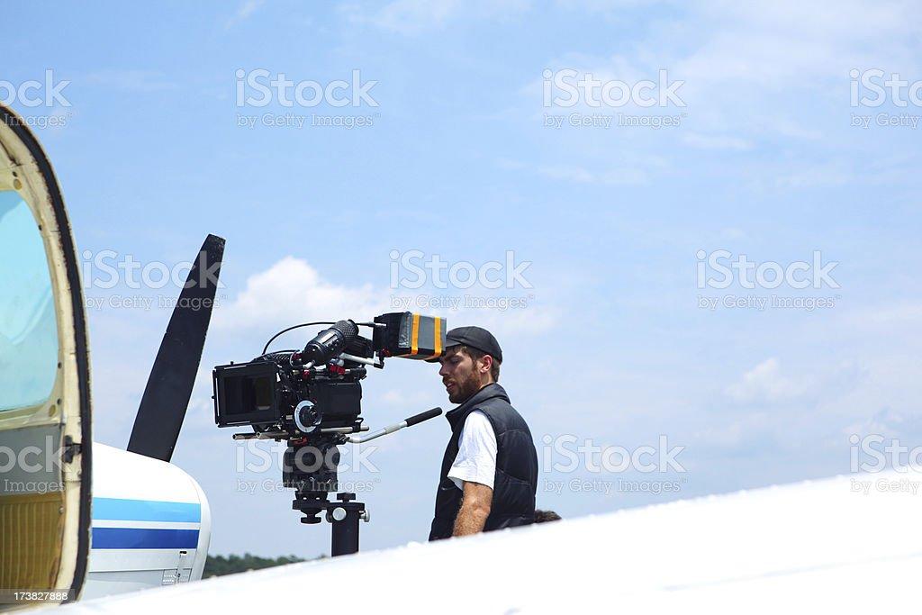 Film Shoot royalty-free stock photo