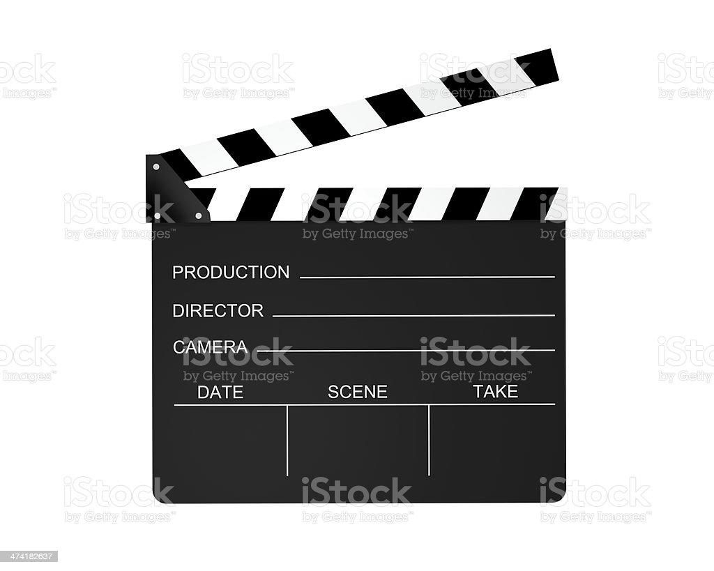 Film Slate stock photo