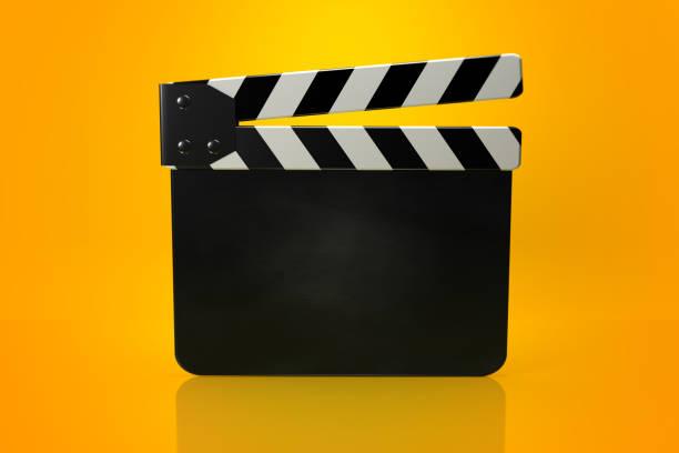 film slate - oscar filme stock-fotos und bilder