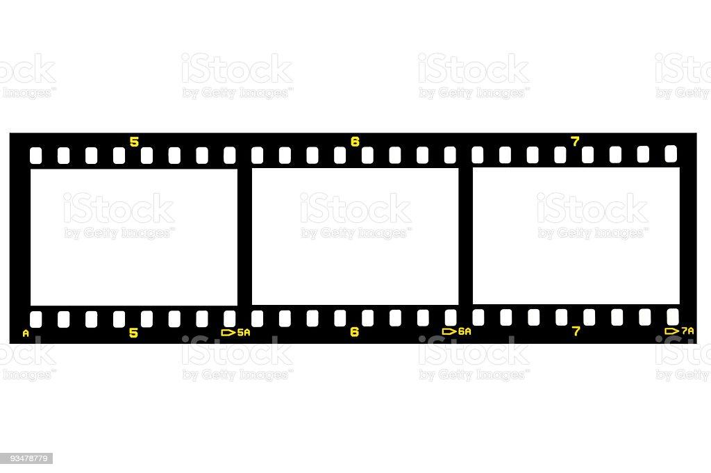 Film Slide royalty-free stock photo