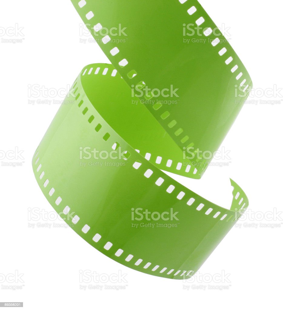 Film Spiral stock photo