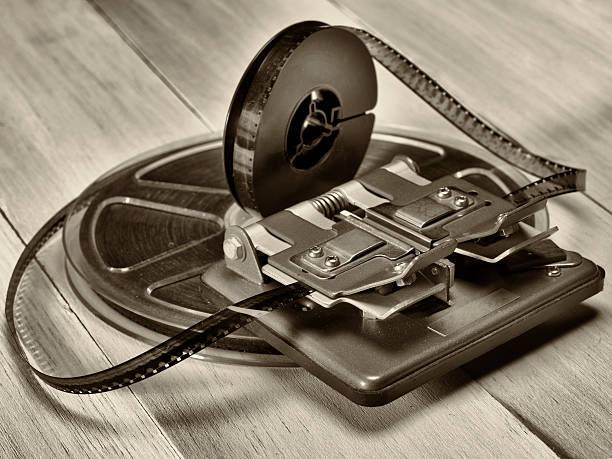 film klebepresse - spleißen stock-fotos und bilder