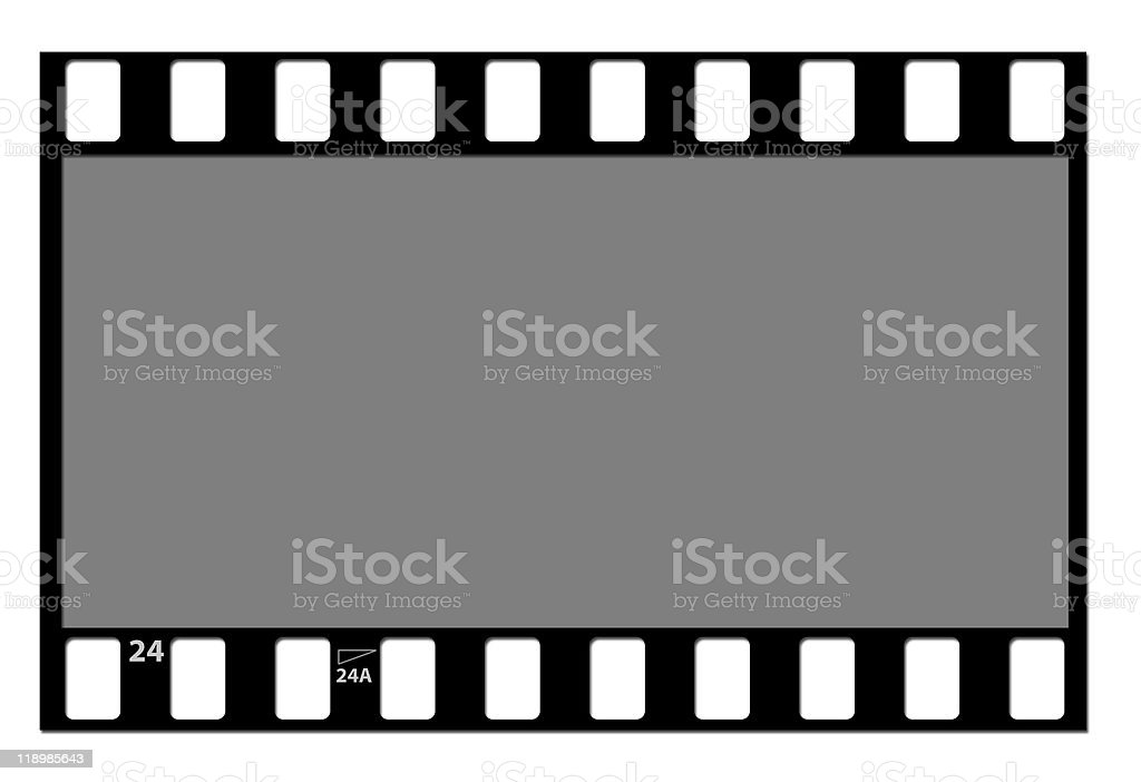 Film Strip Negative stock photo