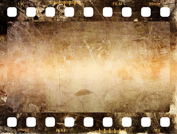 Film Strip Film Strip, Film, Filmstreifen film negative stock pictures, royalty-free photos & images