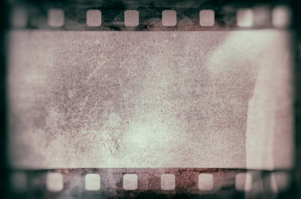 Film strip texture background stock photo