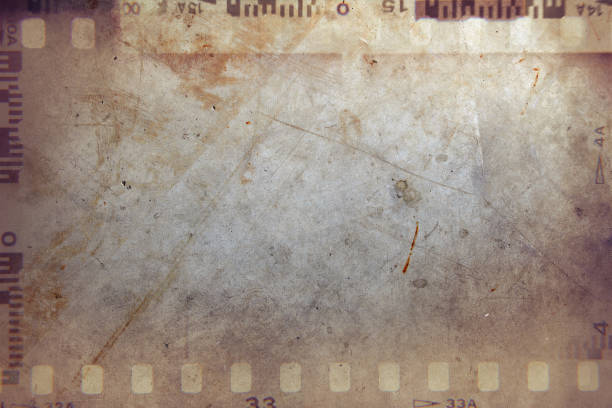 Film strips background stock photo