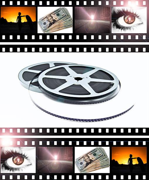 Film Strips & Reels stock photo