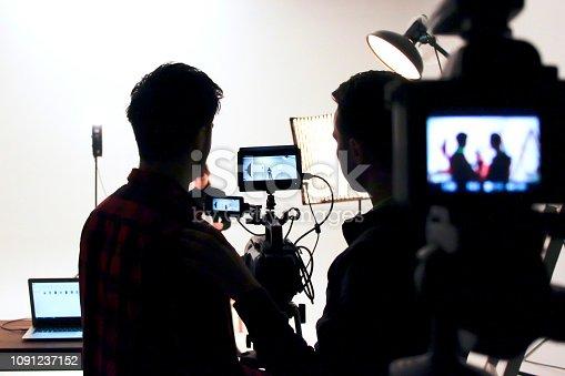 Film studio.