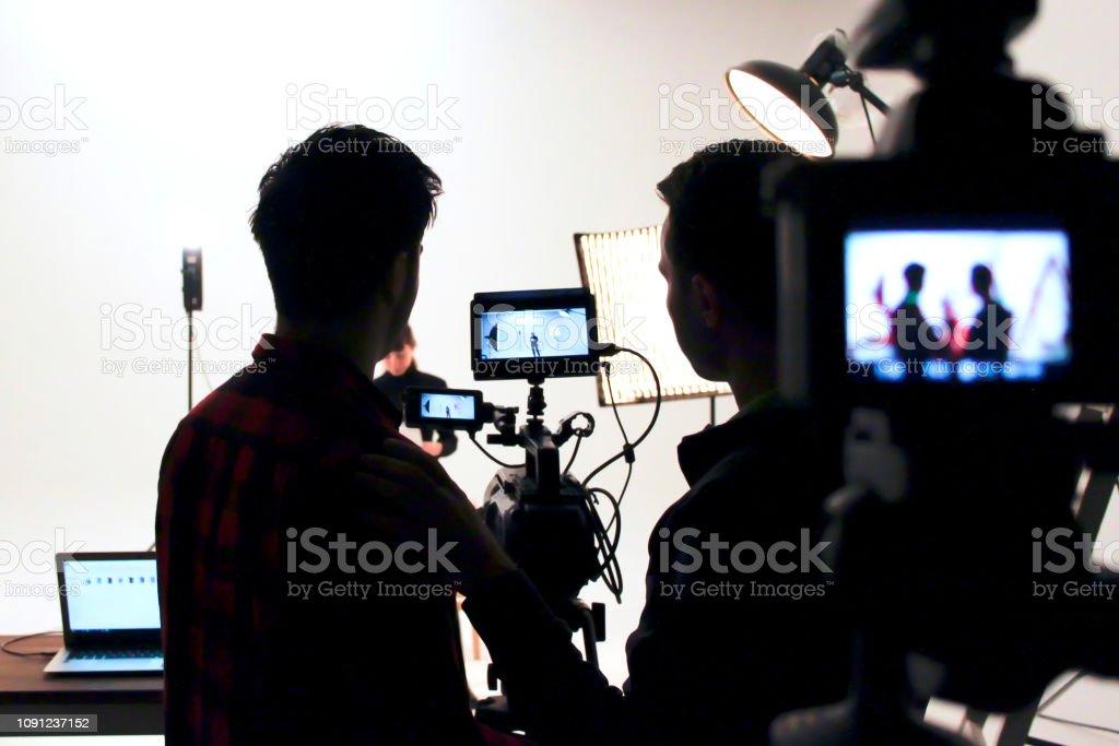 Estudio de cine - foto de stock