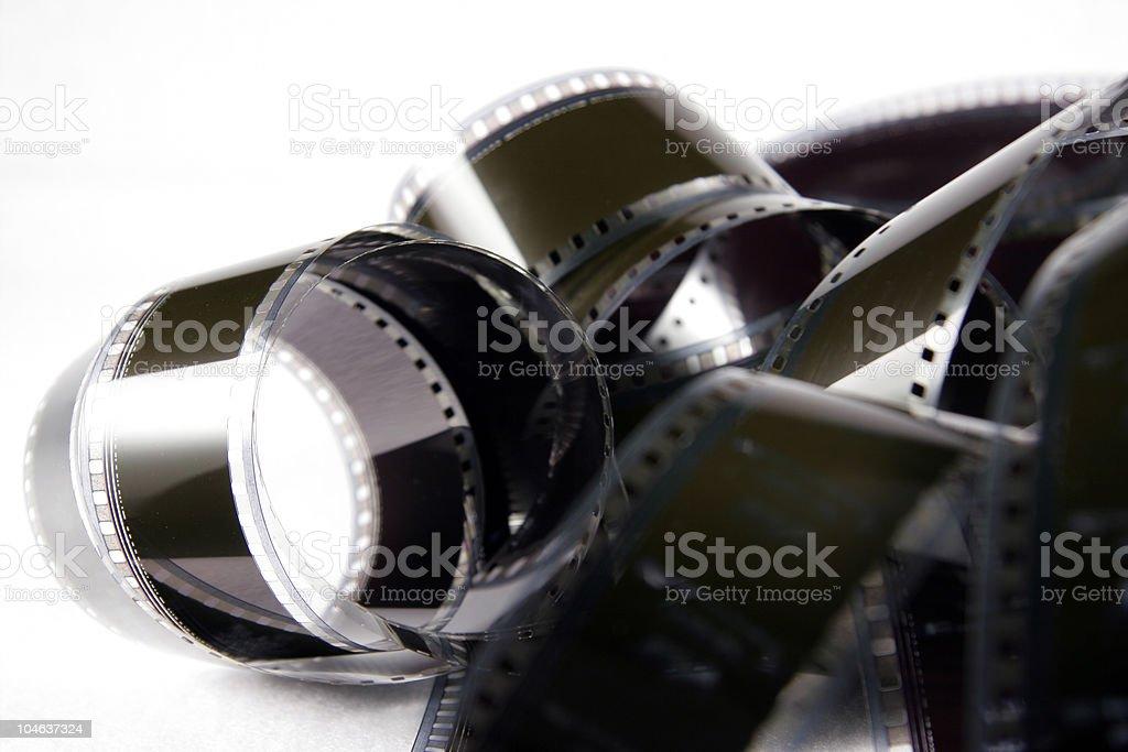 Film Tangle royalty-free stock photo