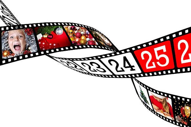 film, die in verbindung mit images of christmas-englische redewendung - weihnachtssterne aus papier stock-fotos und bilder