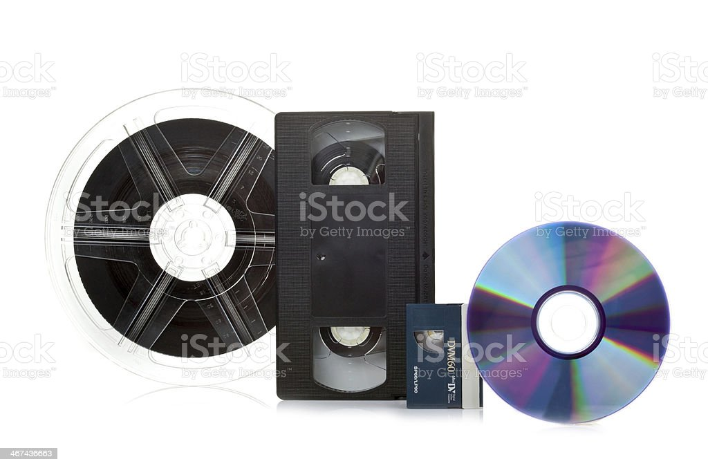 Film Transfer Service stock photo