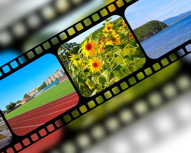 Film avec cadres - Photo