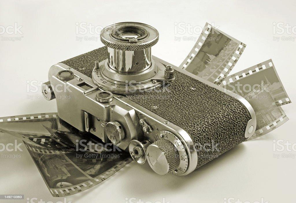 Filmcamera. – Foto