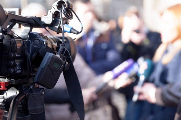 Medienereignis mit Videokamera gefilmt – Foto
