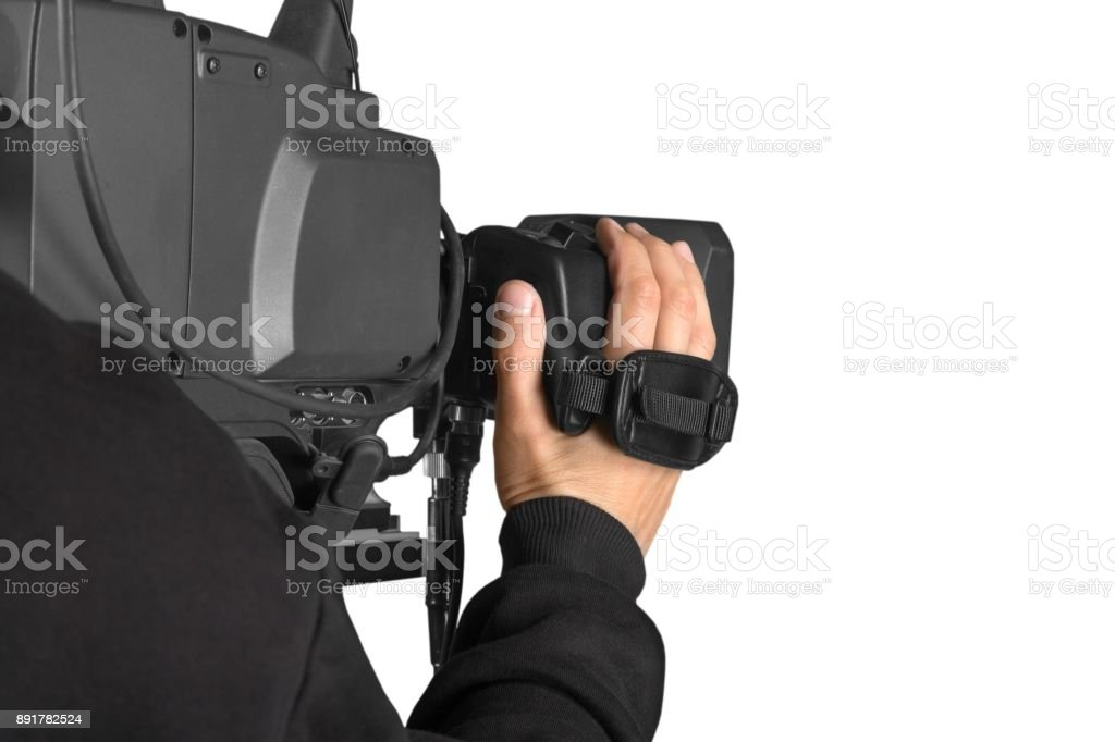 Filming. royalty-free stock photo