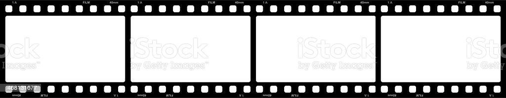 Filmstreifen 4x Big stock photo