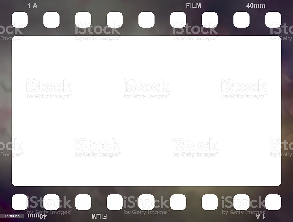 Filmstrip Old royalty-free stock photo