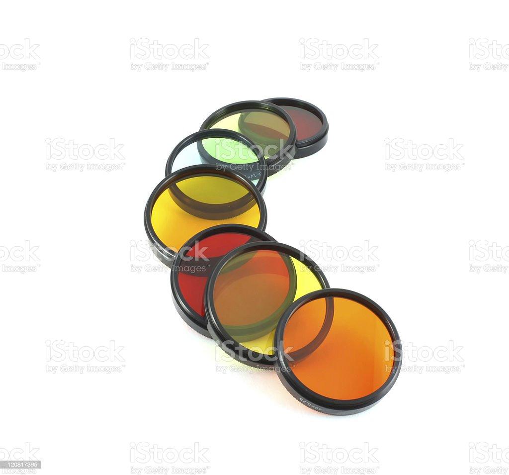 Filter for lenses royalty-free stock photo