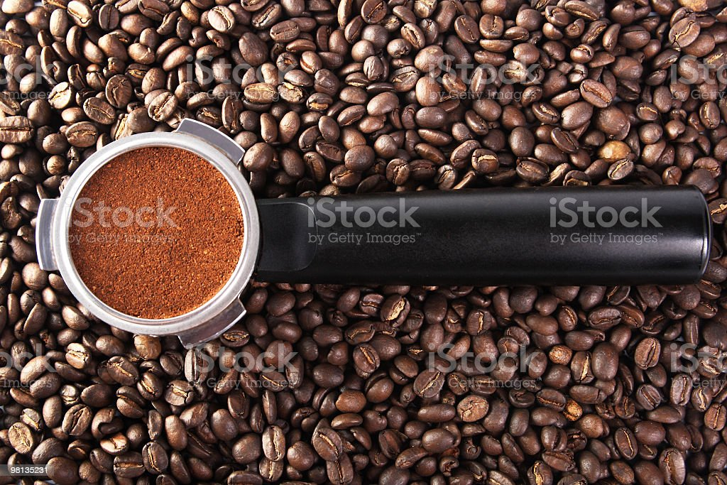 Filter holder royalty-free stock photo