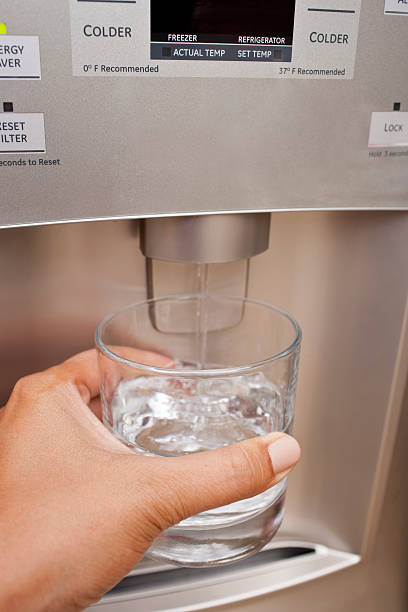 Filtered Water stock photo