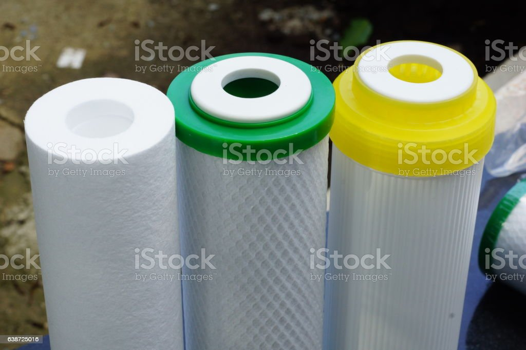 Filters for Drinking Water stock photo