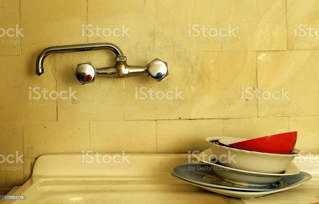 Filthy  kitchen royalty-free stock photo