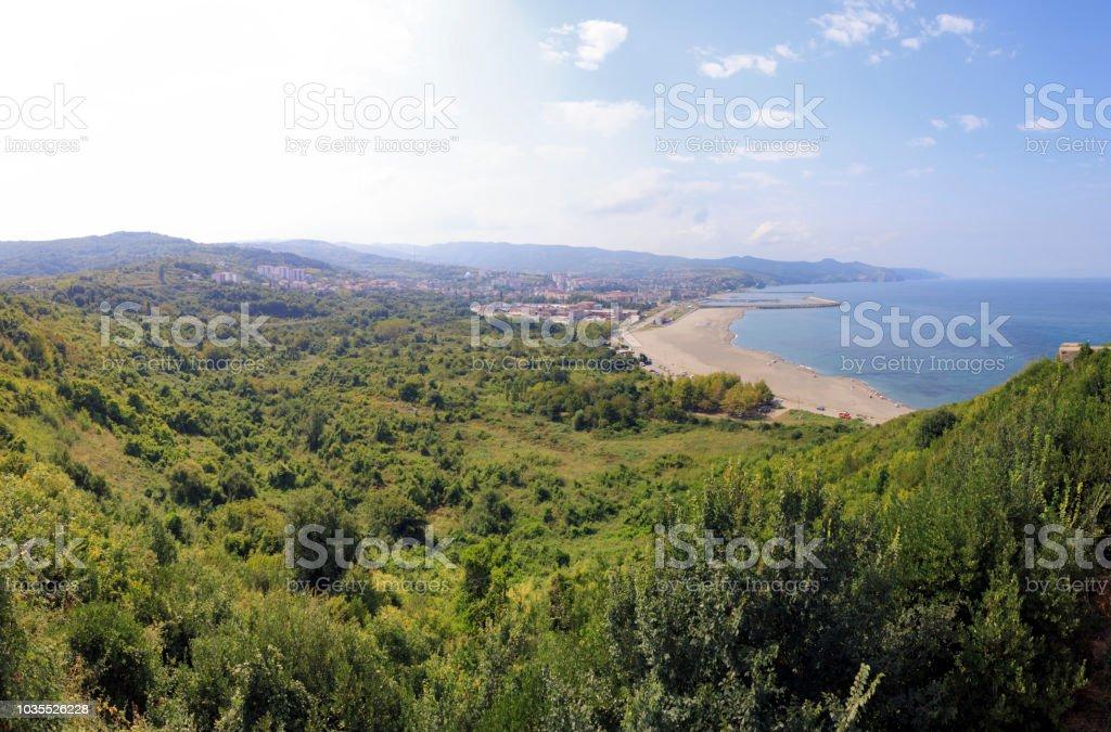 Filyos Beach, Zonguldak stok fotoğrafı