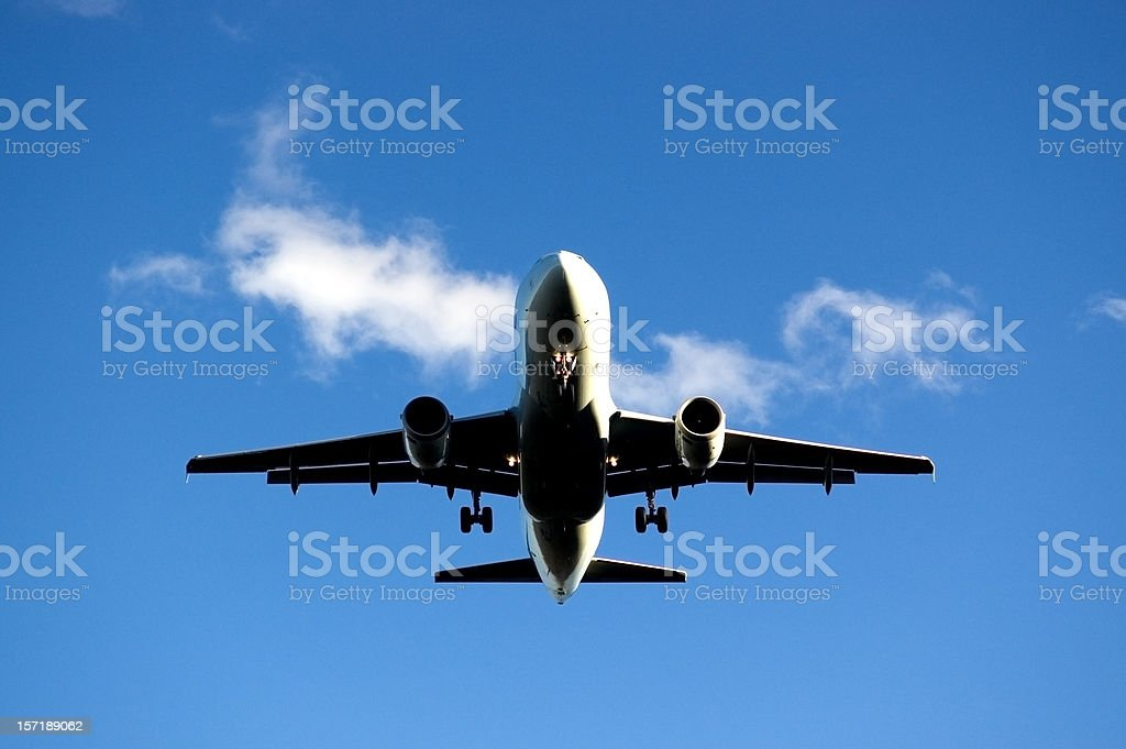 Final Approach royalty-free stock photo