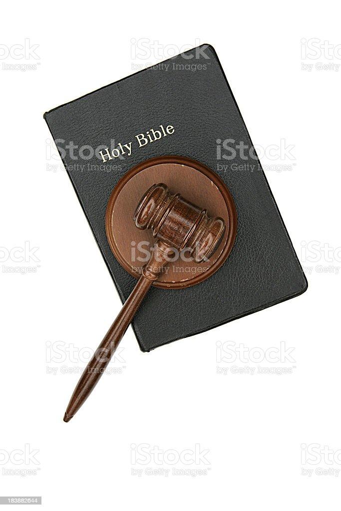 Final Judgement royalty-free stock photo