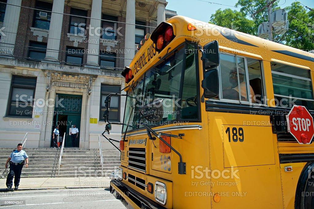 Philadelphia, PA USA - June 13, 2013; On the last day of school, a...