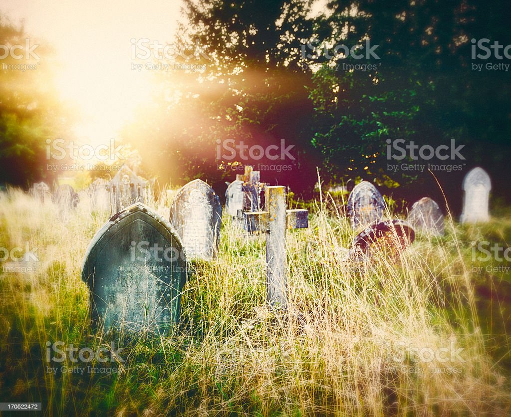 Final Resting Place stock photo