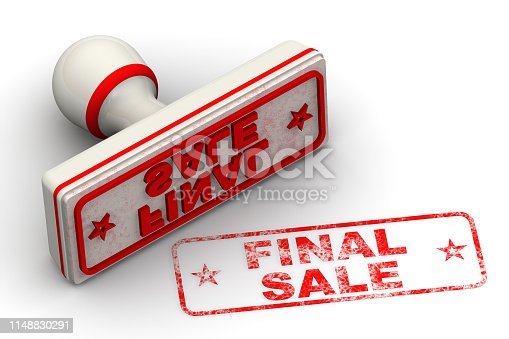 1181637623istockphoto Final sale. Seal and imprint 1148830291