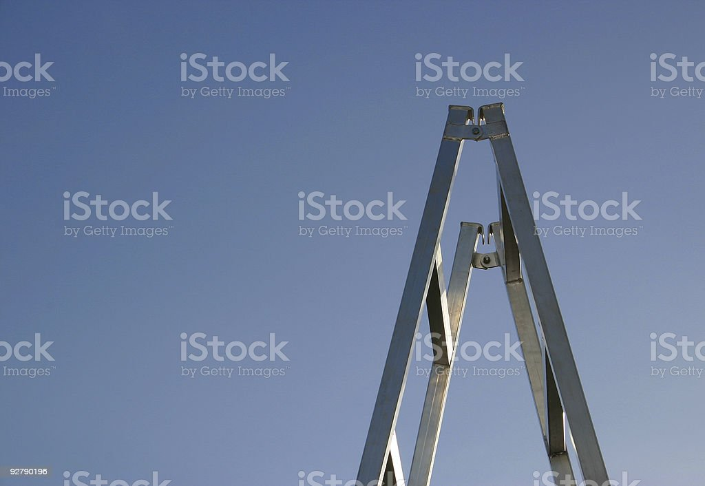 final step royalty-free stock photo