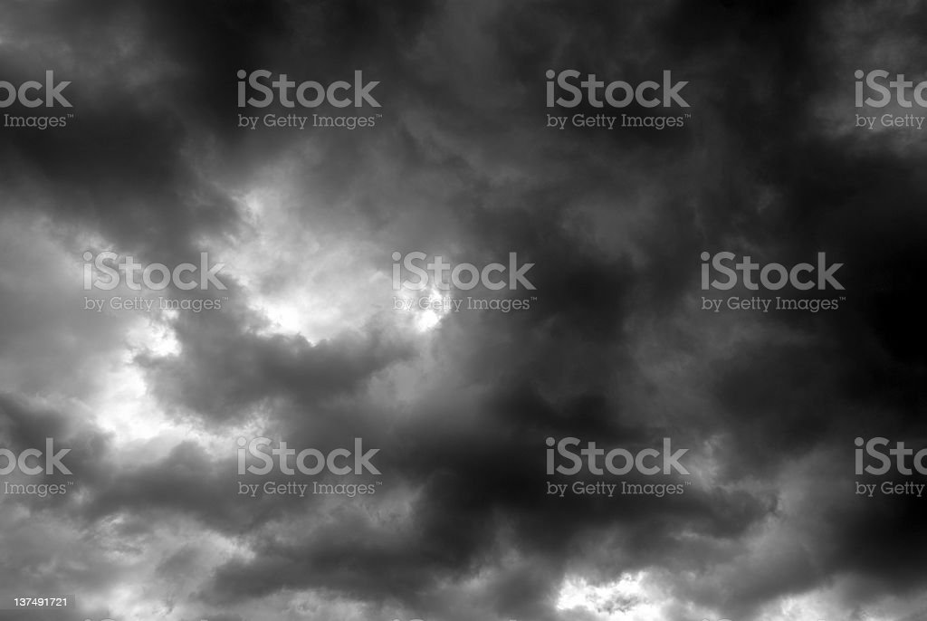 Final Storm royalty-free stock photo