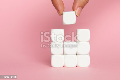 istock Final Touch To Achievement 1196316448