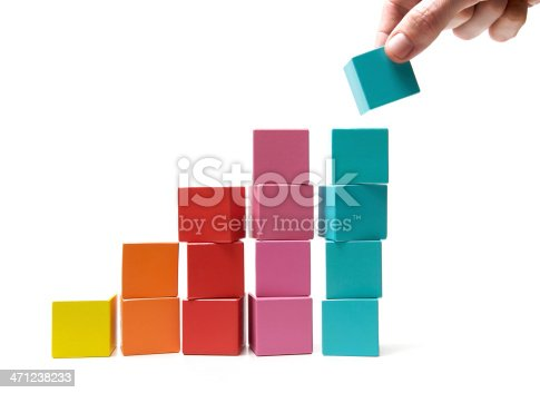 istock Final touch to achievement 471238233