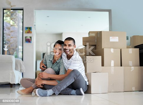 istock Finally a home of our own 639309248
