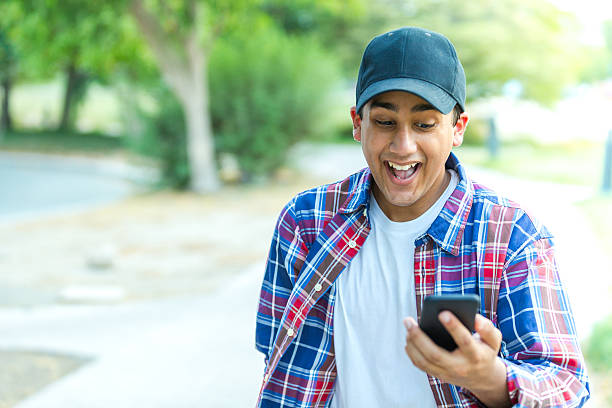 finally great news about my university admission - mobile game stock photos and pictures