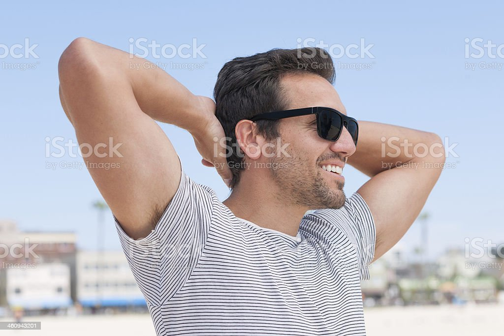Finally Vacation stock photo
