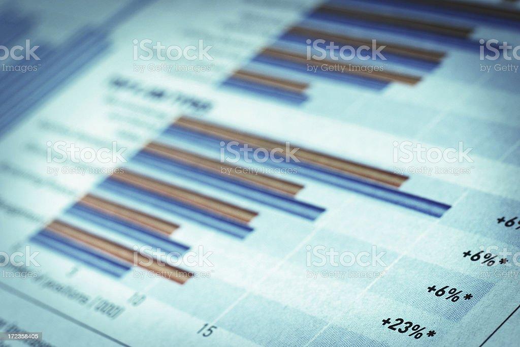 Finanacial gráfico foto de stock libre de derechos