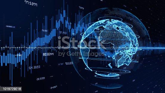 istock Financal technology concept. FINTECH. 1019729218