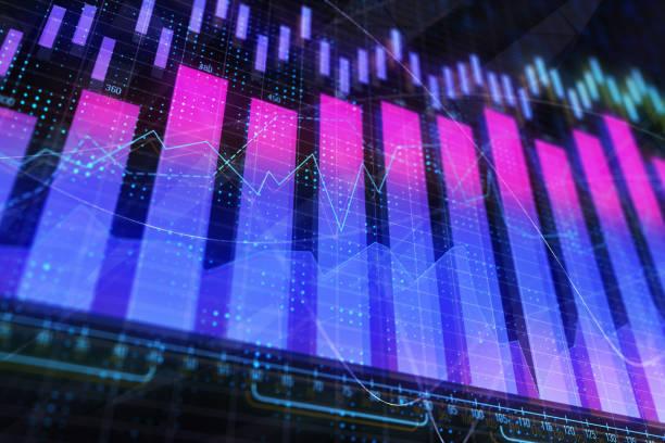 Finanzen, Analytik und Technologie-Konzept – Foto