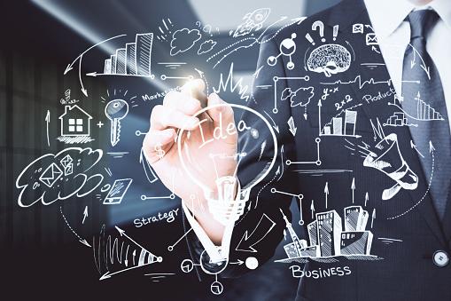 Financiën En Onderwijs Concept Stockfoto en meer beelden van Bedrijfsleven